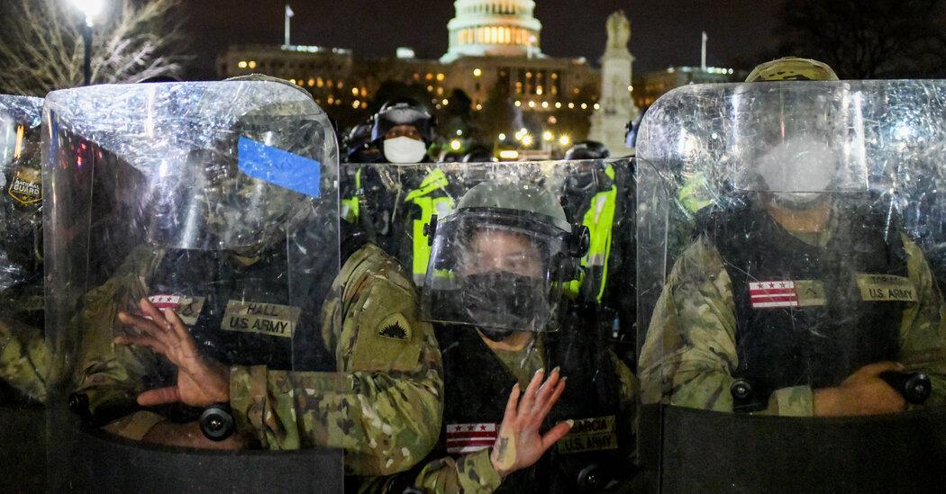 Capitol Riot Security Failures Detailed in Senate Report 1