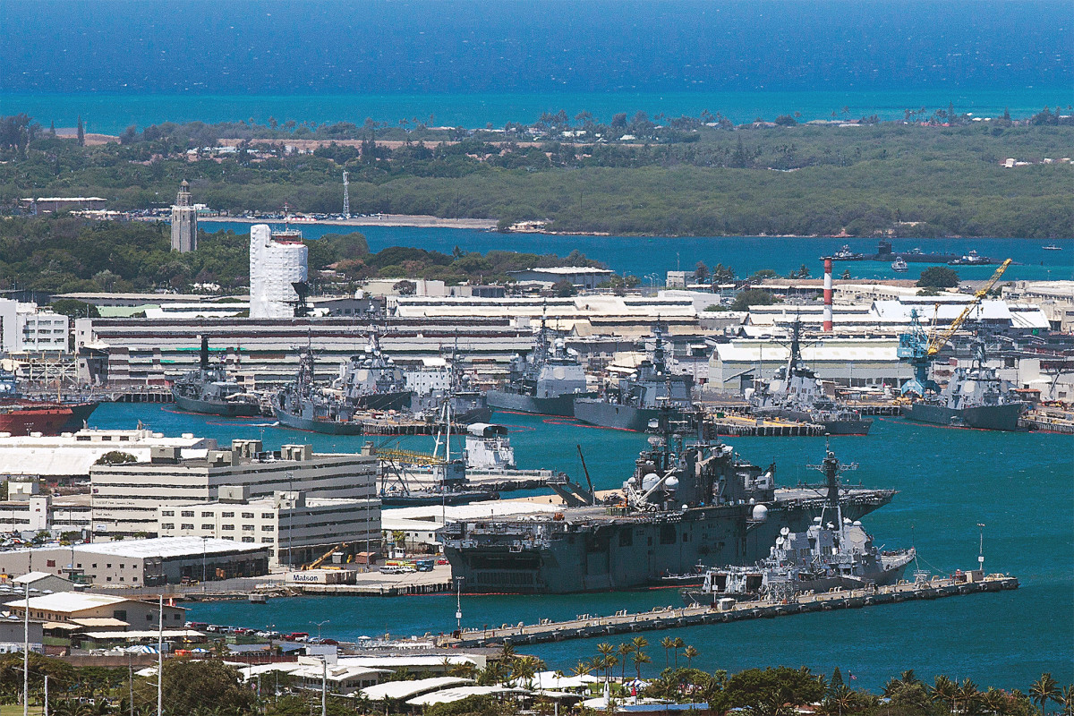 Pearl Harbor military base on lockdown over 'potential security threat' 1