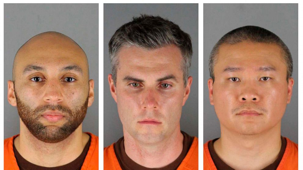 Trial schedule set for 3 ex-officers in Floyd's death 1