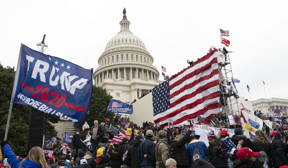 Capitol riot caused $1.5M in damage, Justice Department says 1