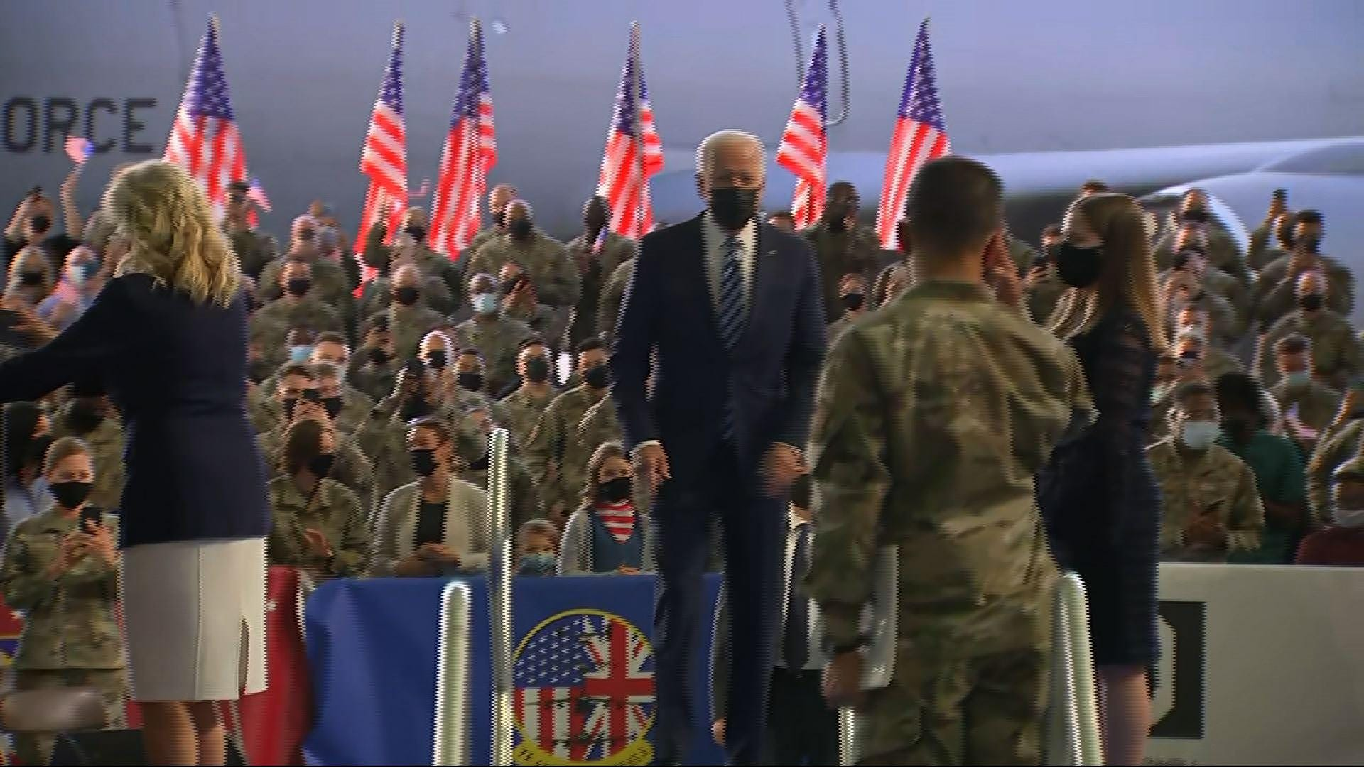 Biden opens overseas trip: 'United States is back' 1