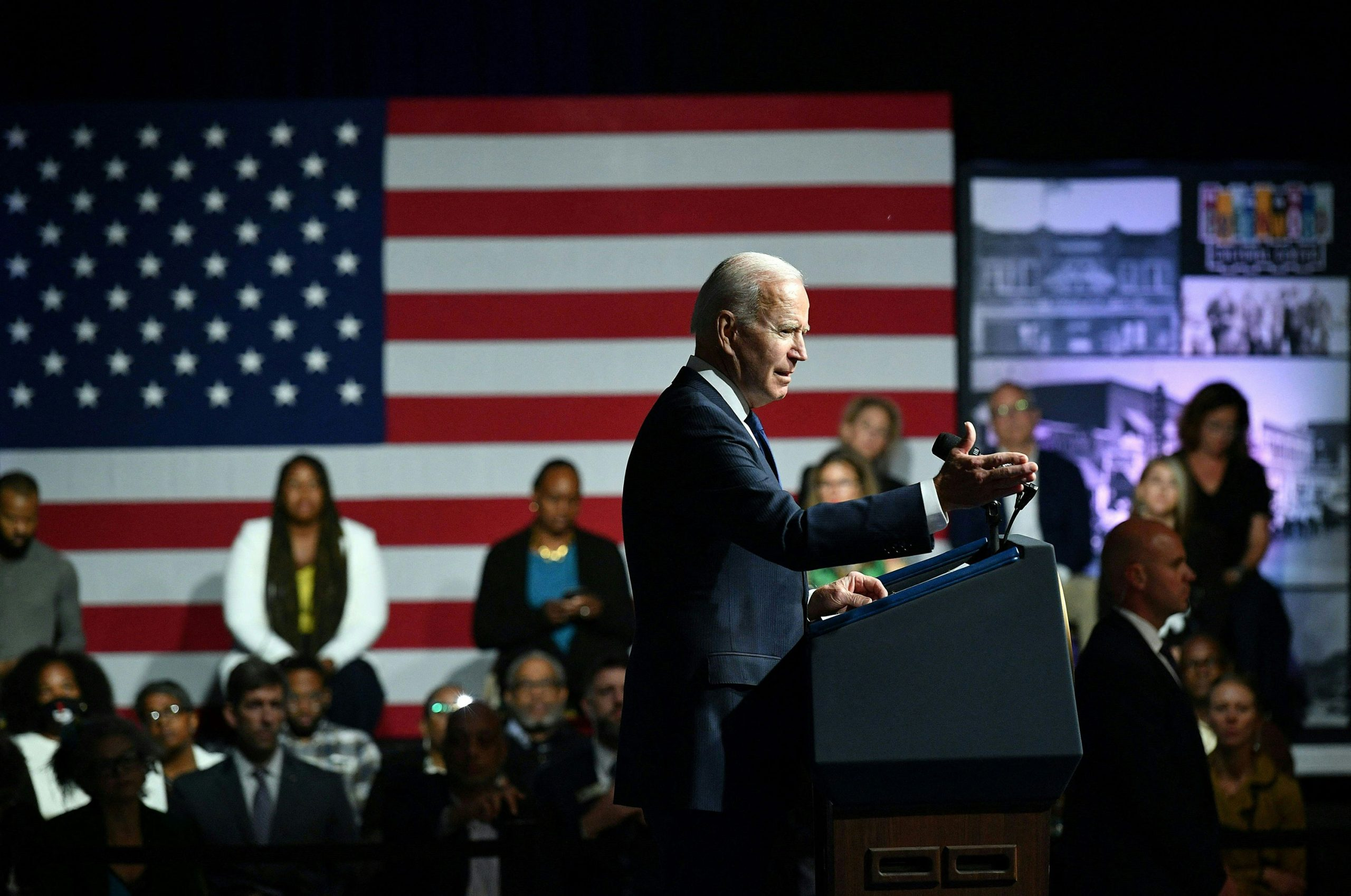 Biden: 'This was not a riot. This was a massacre.' 1