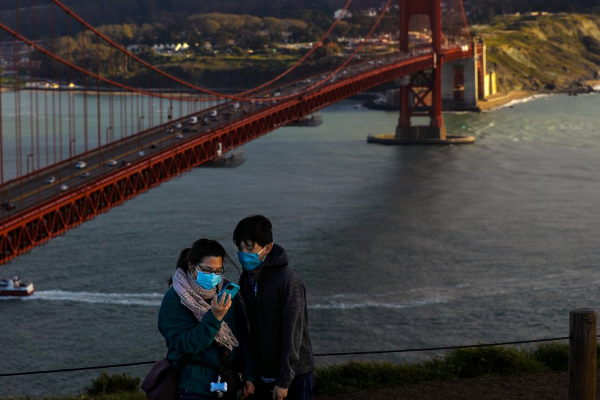 Californians vaccinated for COVID-19 can largely shed masks on June 15 1