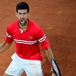 Novak Djokovic lets out guttural scream after setting up French Open semifinal against Rafael Nadal 8