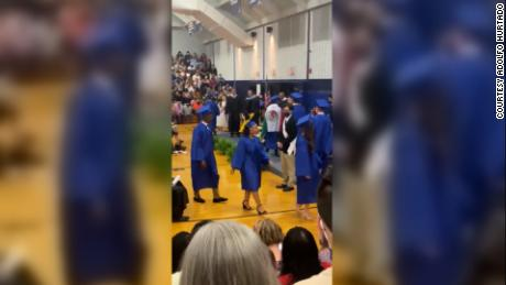 Critics say schools policed 'Black joy' and ethnic pride when graduates were blocked from crossing stages 1