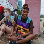 Black activist wards off protesters so women can access Mississippi's sole abortion clinic 5