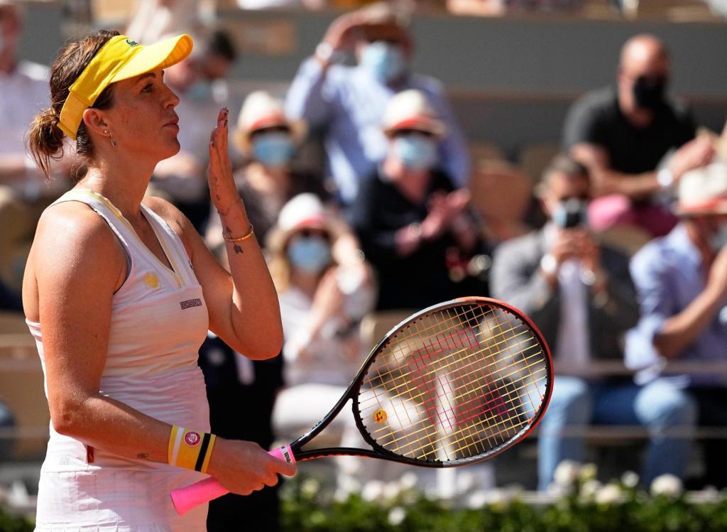 Russian Anastasia Pavlyuchenkova advances to first major final in French Open 1