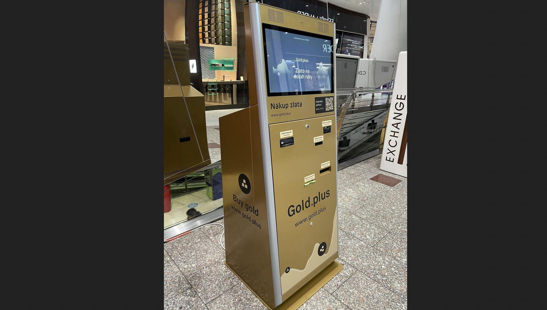First European Physical Gold ATM Opens In Prague, Czech Republic 1