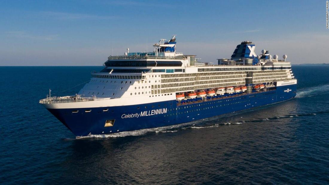 Two passengers on Celebrity Millennium cruise test positive for Covid-19 1