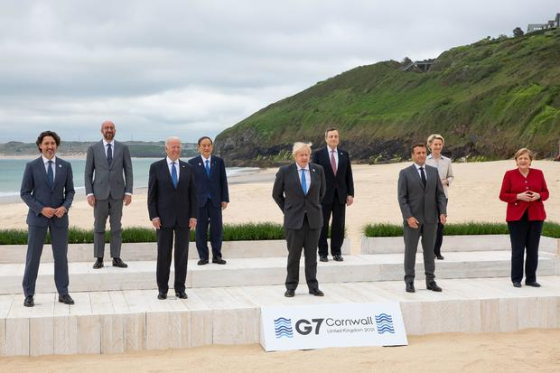 Biden and G7 leaders to commit to donating 1 billion COVID-19 vaccines 1