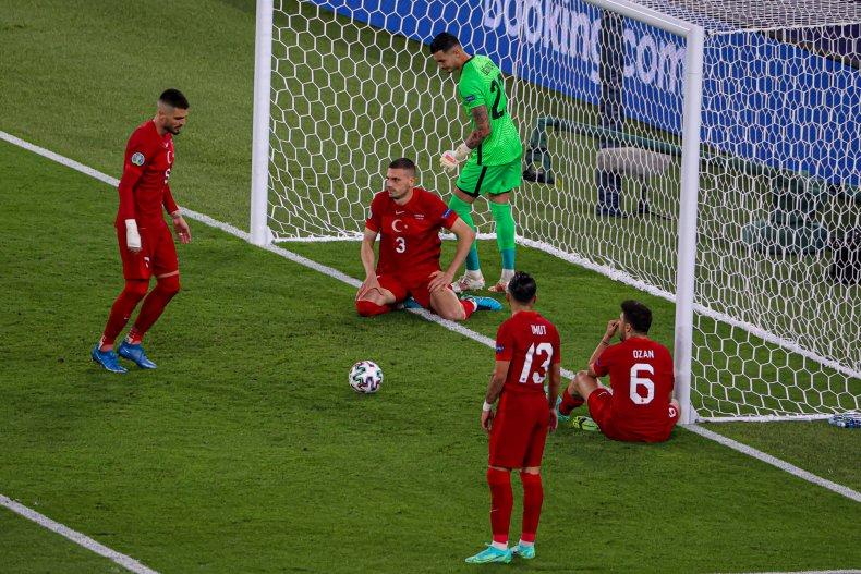 Merih Demiral of Turkey Scores Game-Winning Goal for Italy to Open European Soccer Championship 1