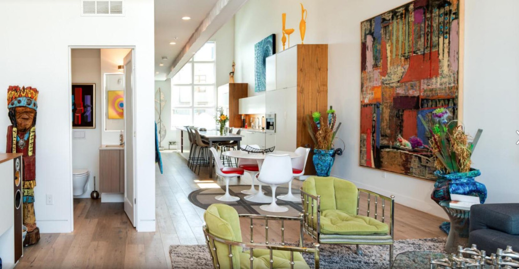 A showcase for art in a RiNo townhouse/loft shows a trendy restaurant district reopening 1