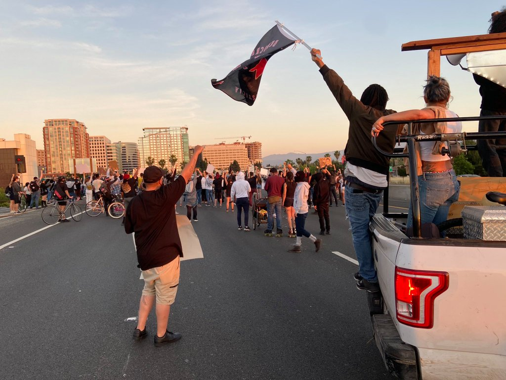San Jose: Protesters take to the streets, freeway after latest police killing 1