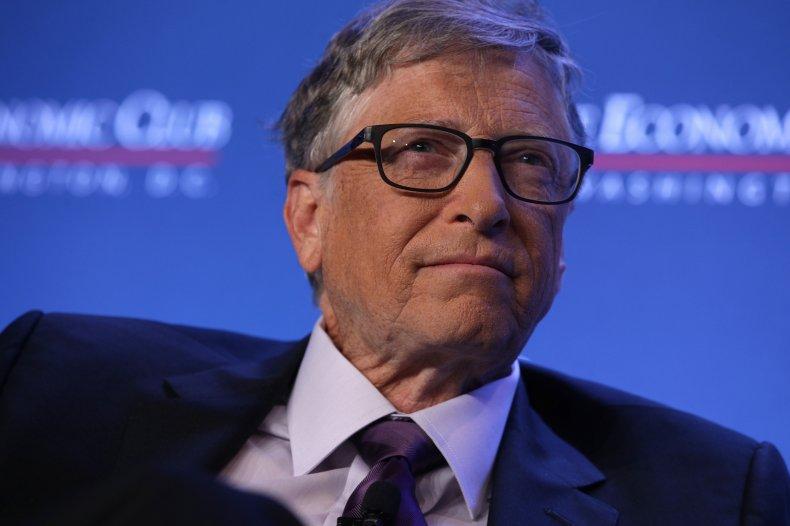 'Arrest Bill Gates': Protesters Descend on Bill and Melinda Gates Foundation HQ 1