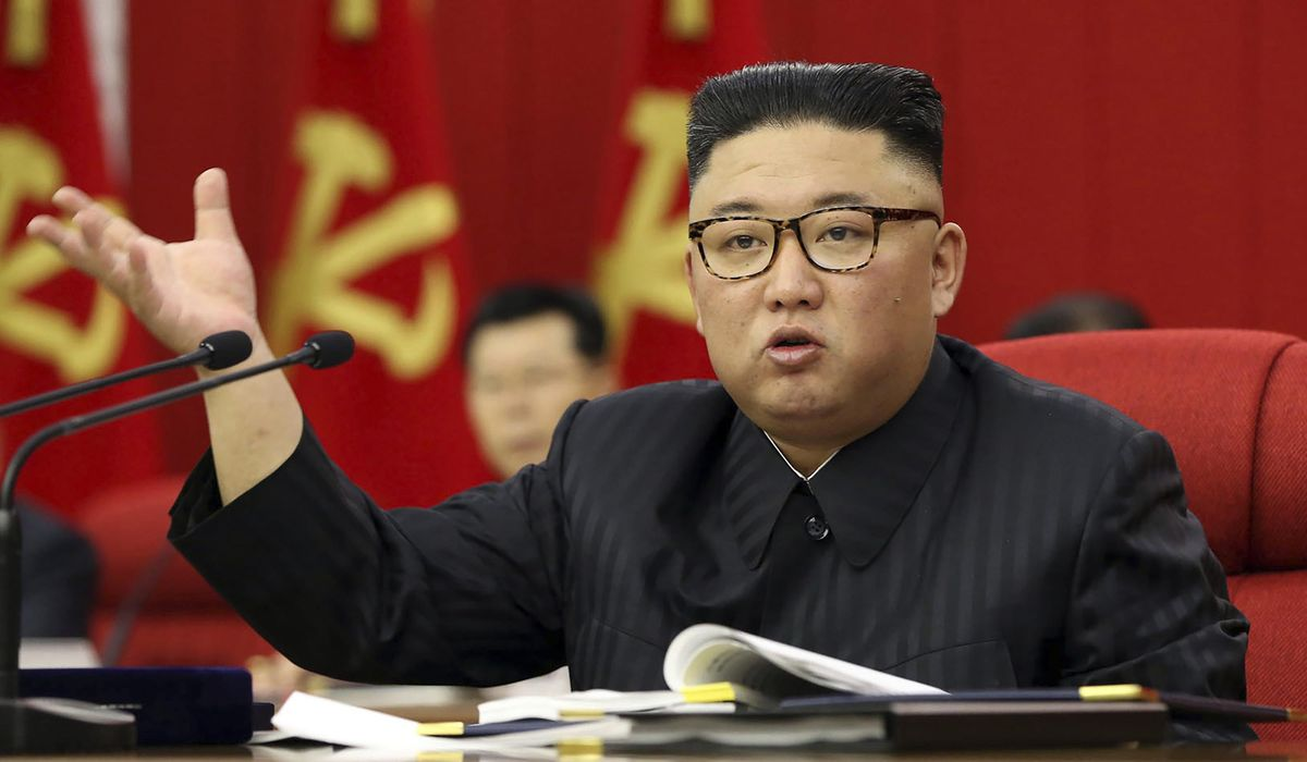 North Korea's Kim Jong-un hints at 'great crisis' over the coronavirus 1