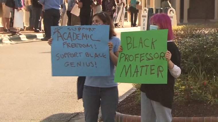 UNC protesters cite ongoing frustrations amid Nikole Hannah-Jones tenure dispute 1