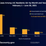 20% of L.A. County's coronavirus cases in June were among the vaccinated. Why that's not surprising 19