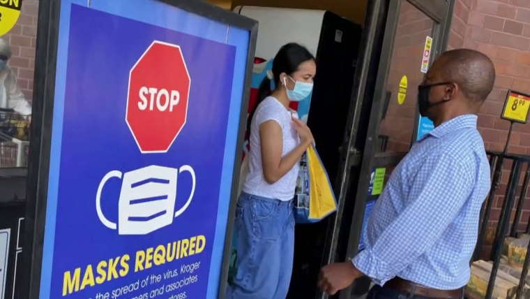 Change in CDC masking guidance met with relief from experts 1