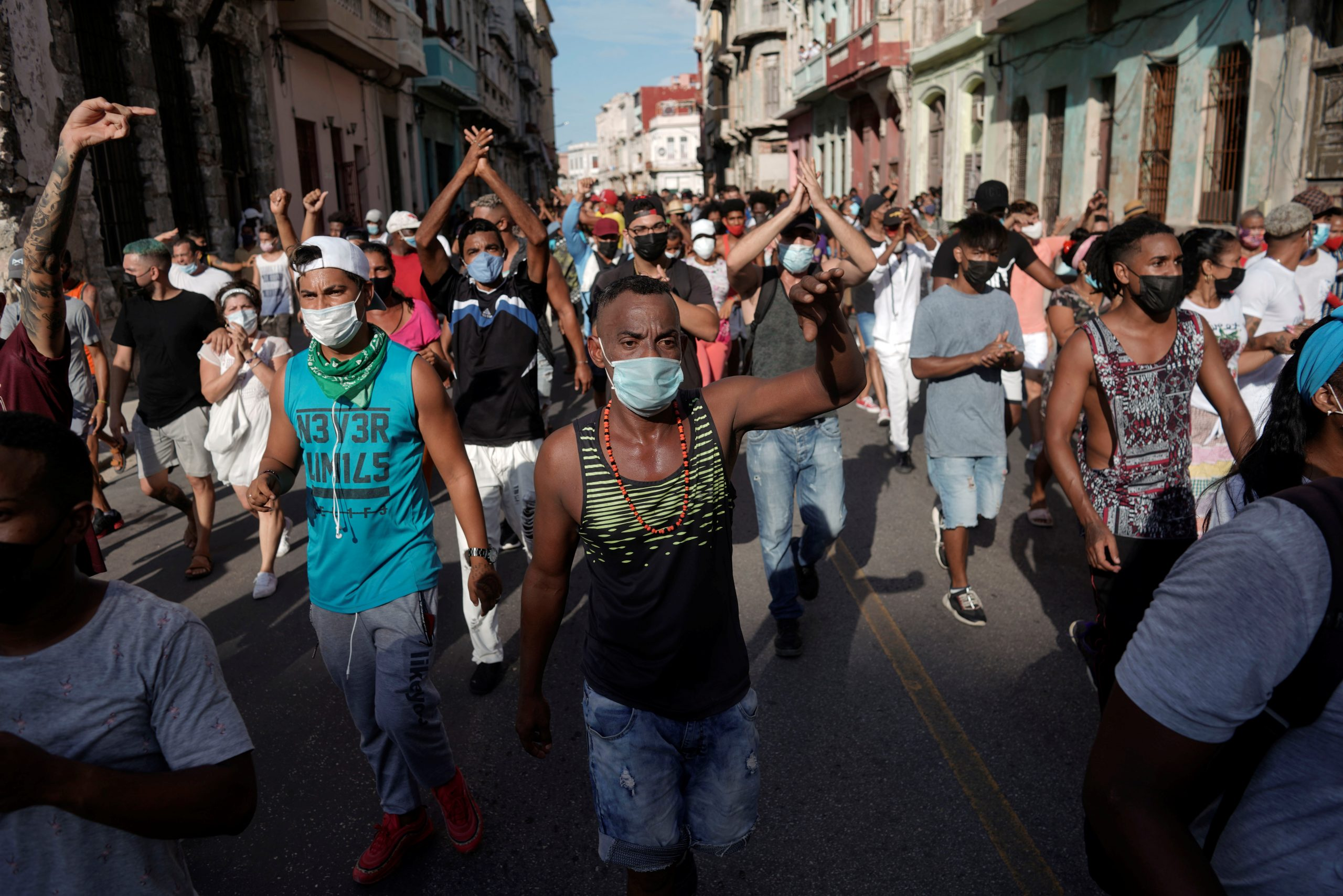 Cuba Sees Biggest Anti-Government Protests in Decades 1