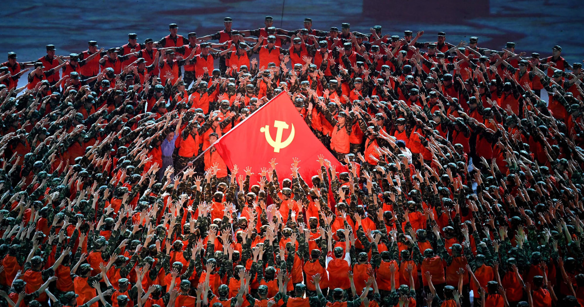Chinese Community Party whips up patriotic fervor to celebrate 100 years in power 1