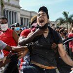 Cuban president defiant, blames embargo after protests 6