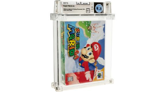 Unopened 'Super Mario 64' video game sells for over $1.5 million 1