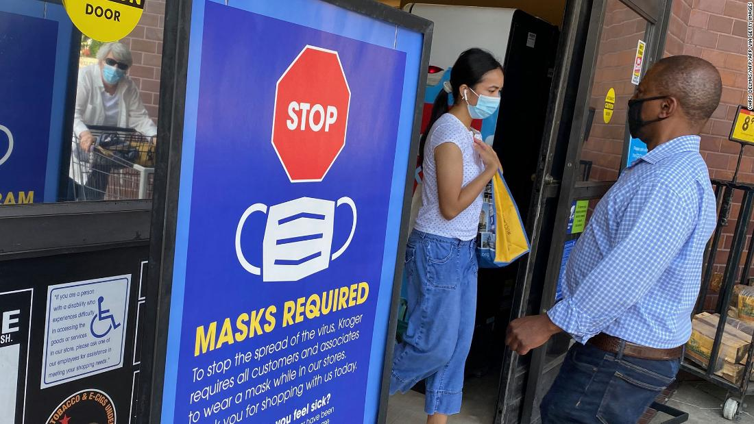 New science leads to another CDC update on masks. Even for the vaccinated. 1