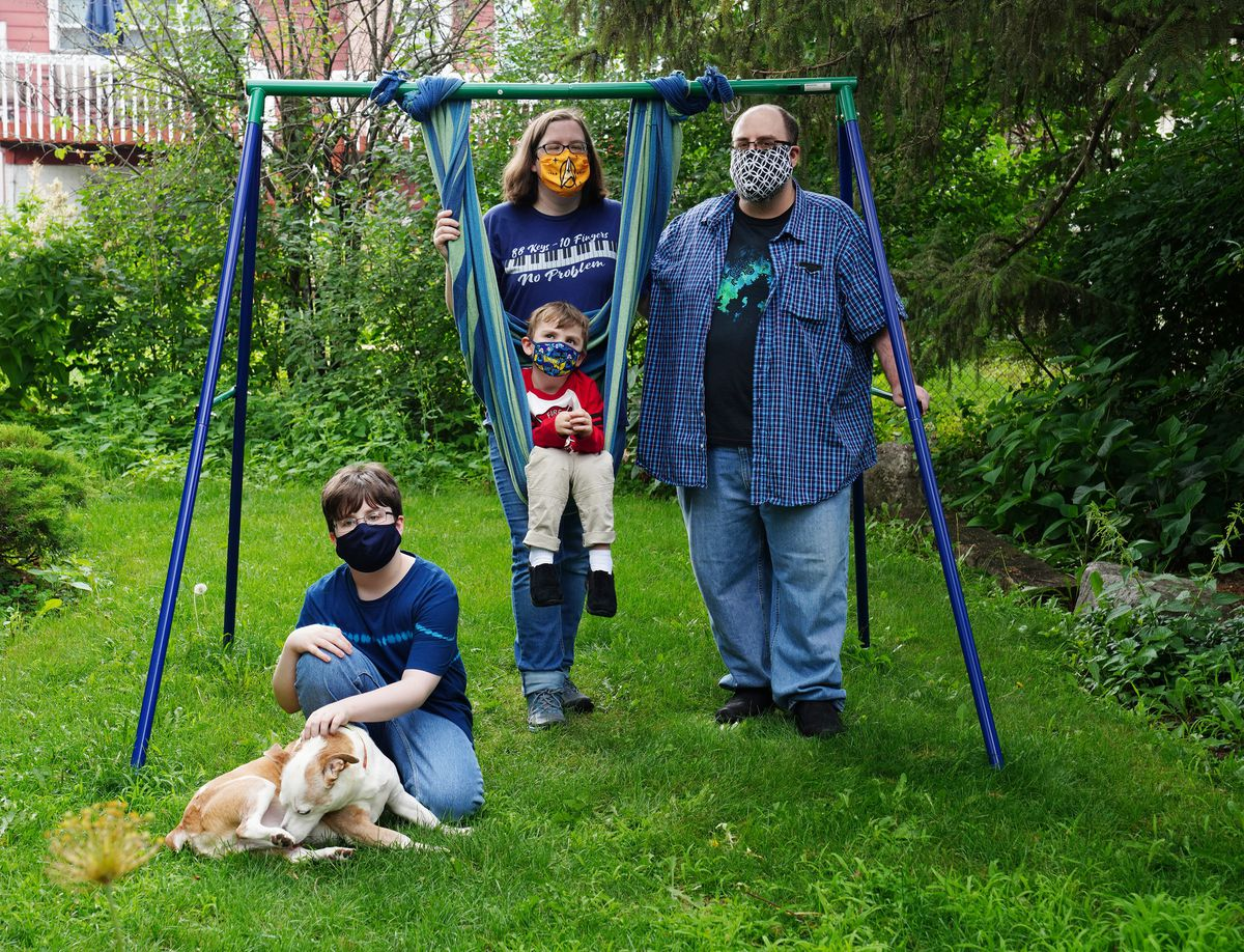 Masks up for debate again at suburban districts after CDC calls for universal masking in schools. 'All of the mama bears are on high alert right now.' 1