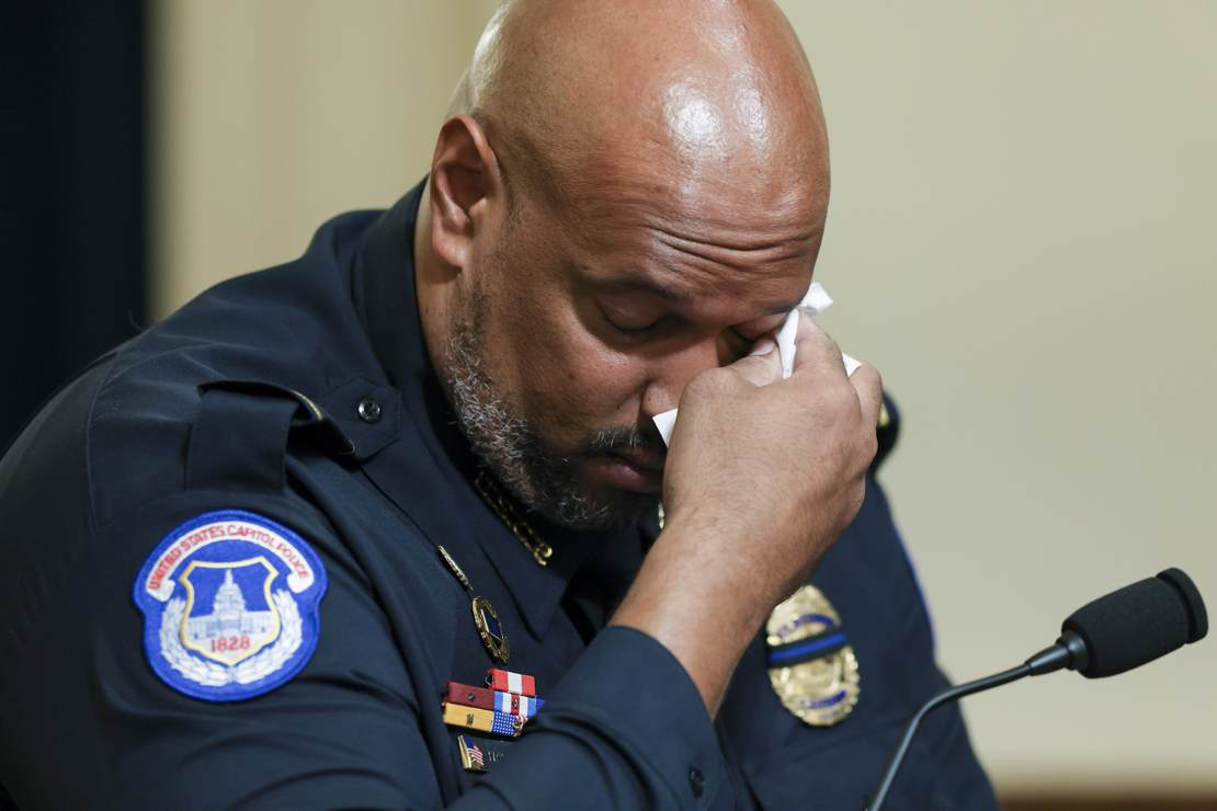 Release the Videos Showing Capitol Rioters Calling the Crying Police Officer the 'N Word' 1