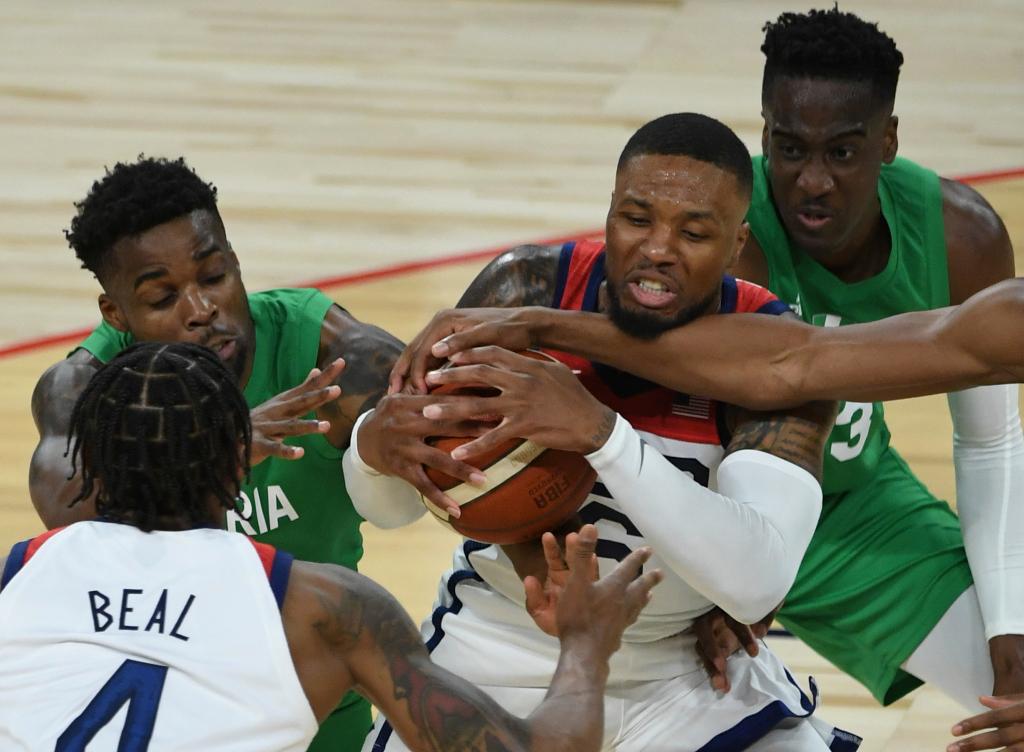 Shocker: U.S. falls to Nigeria 90-87 in pre-Olympic opener 1