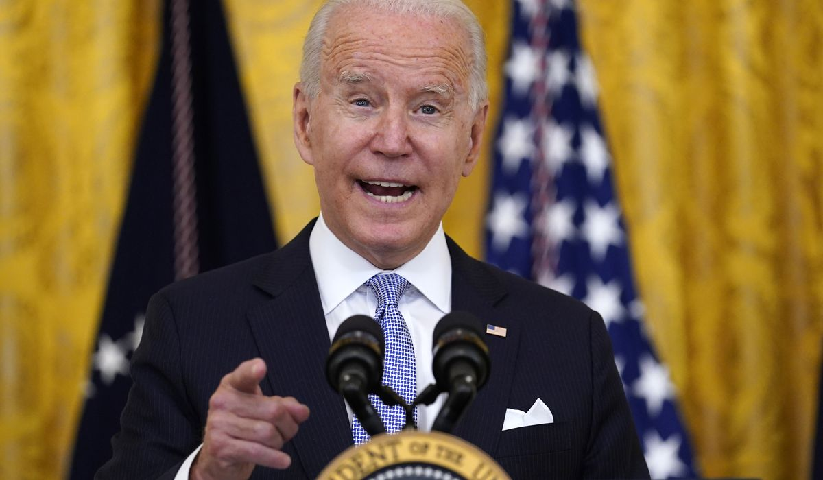 Joe Biden orders federal workers to get vaccinated or face testing, masks 1