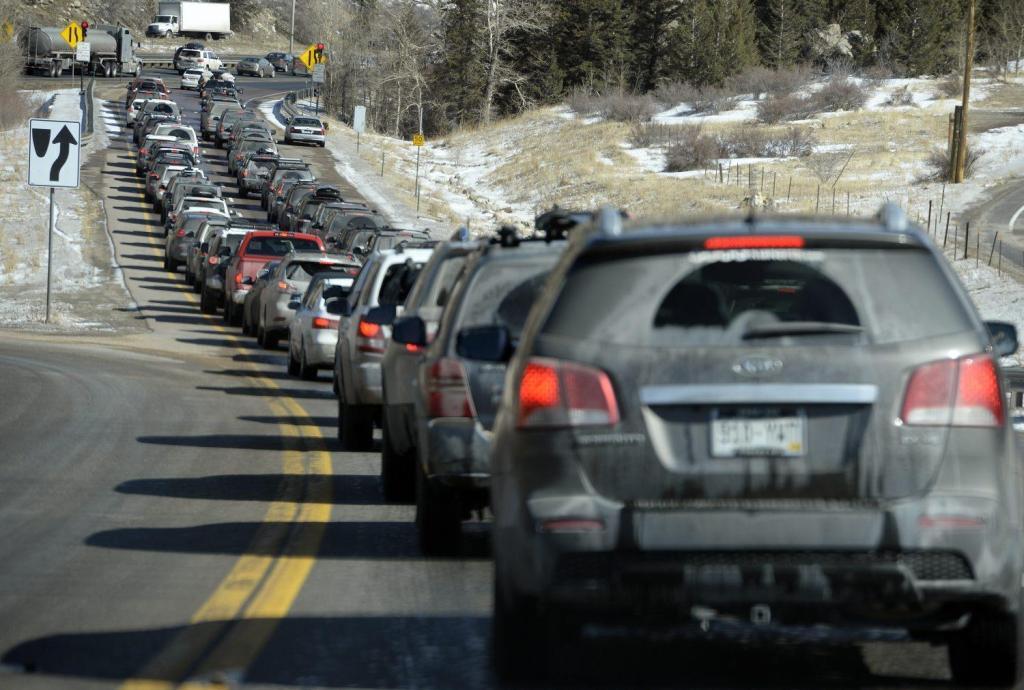 I-70 near Colorado Boulevard reopens after five-car crash 1