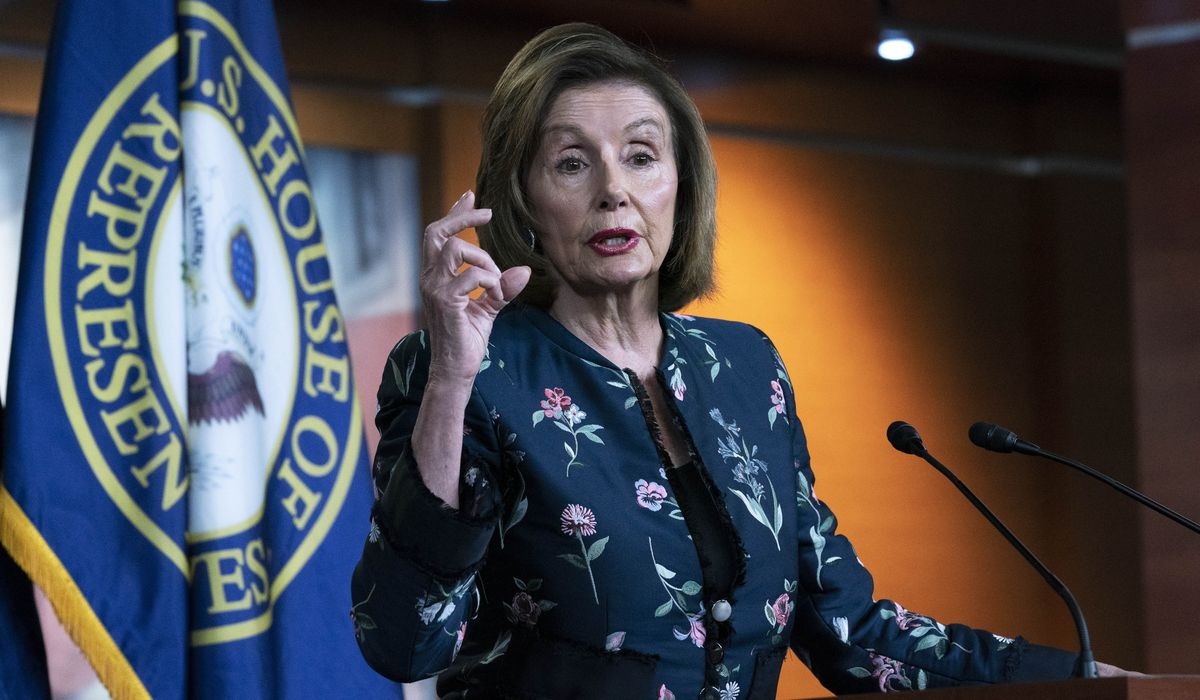House Republicans sue Nancy Pelosi in federal court over mask fines 1