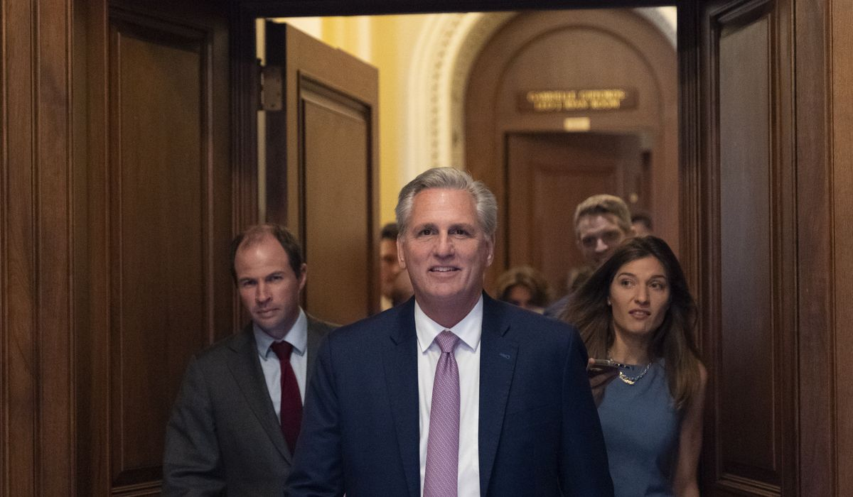 McCarthy to GOP: Don't let Pelosi name you to 1/6 riot panel 1