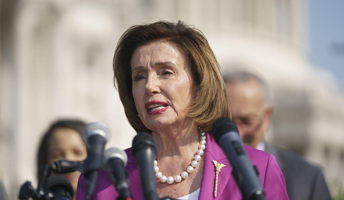 Pelosi labels McCarthy a 'moron' as House revives COVID mask mandate 1