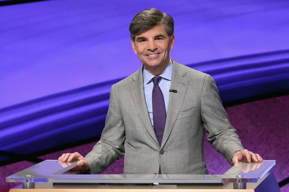 """George Stephanopoulos Opens Up About Guest Hosting 'Jeopardy': """"Harder Than It Looks"""" 1"""