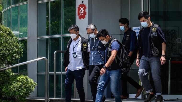 Hong Kong protester sentenced to 9 years in prison in first national security case 1