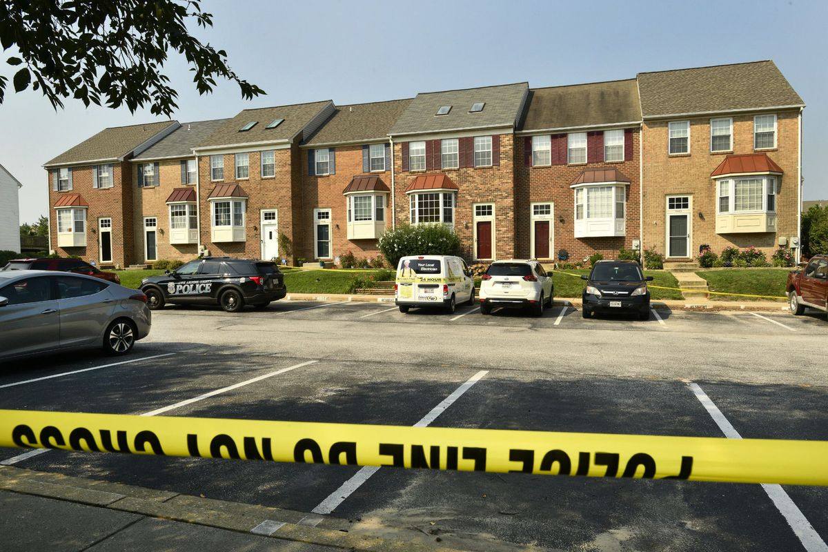 Baltimore police officer accused of hiding teen stepson's remains behind wall in his home 1