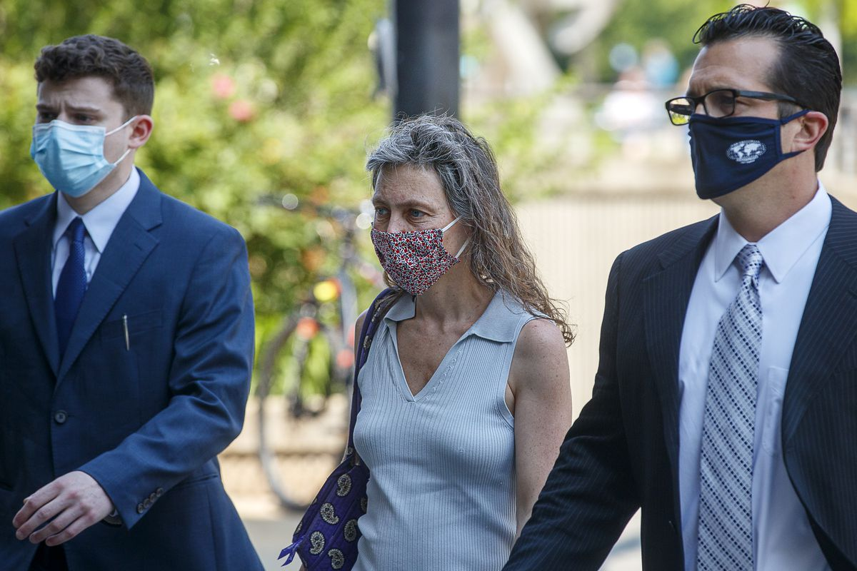 White woman charged with hate crime for spitting on Black woman during protest may have charges dismissed 1