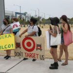 Little Village residents protest opening of Target warehouse they say will create more pollution because of added diesel truck traffic 7