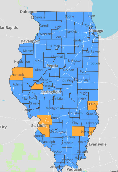 Illinois' COVID-19 infection rate — while still low — doubles in two weeks: 'We could easily backslide' 1
