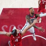 US bounces back from Olympic-opening loss, routs Iran 120-66 6