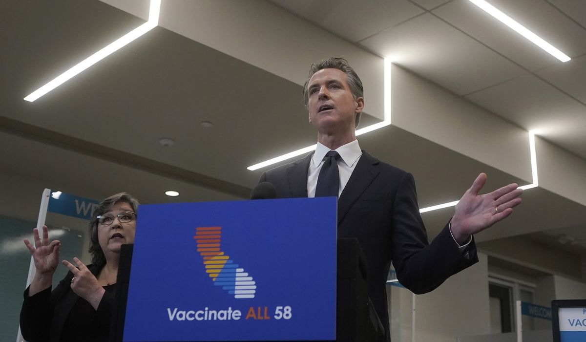 Gavin Newsom slams 'right-wing echo chamber' for COVID-19 misinfo, spars with Marjorie Taylor Greene 1