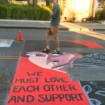 Officers sue California city over Black Lives Matter mural 8