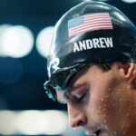 US swimmer Andrew goes maskless behind scenes at Olympics 5