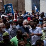 Demonstrators in Havana protest shortages, rising prices 7