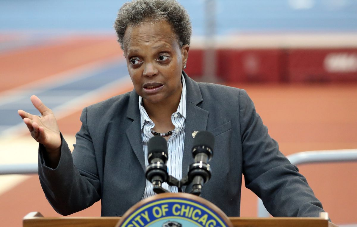 The Spin: Lightfoot in California to woo Big Tech, meet with San Francisco Mayor Breed   U.S. Reps. Marjorie Taylor Greene, Mary Miller hold fundraiser in Illinois tonight   First winners of state's COVID-19 lottery announced 1