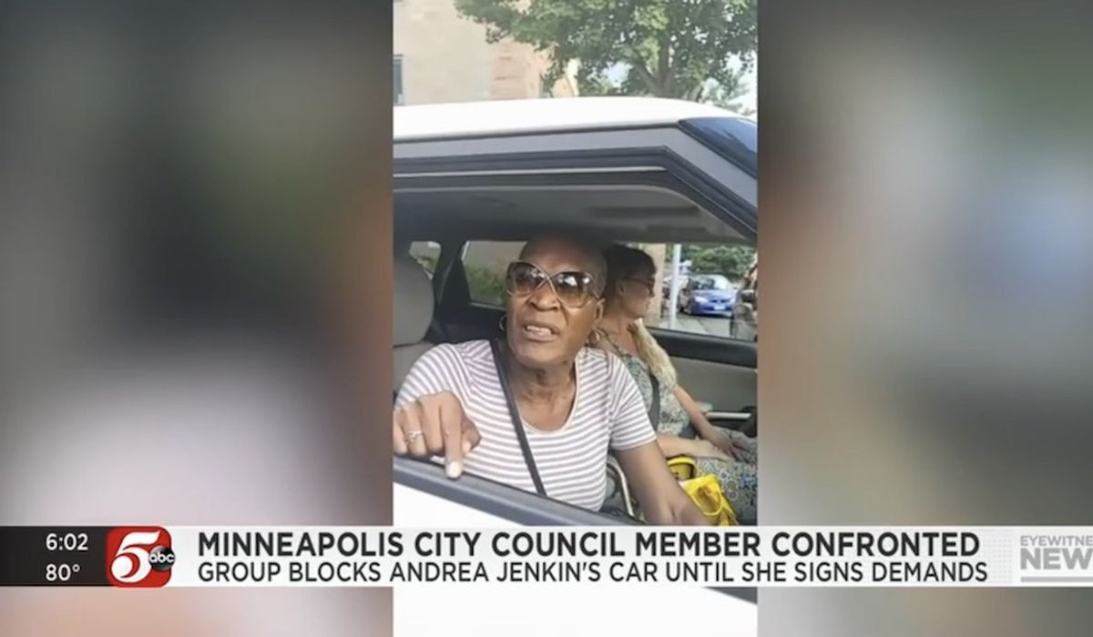 Andrea Jenkins, Minneapolis official, says she was 'held hostage' by BLM protesters 1