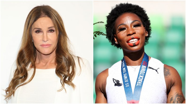 Caitlyn Jenner Calls Gwen Berry's National Anthem Protest 'Disgusting' 1