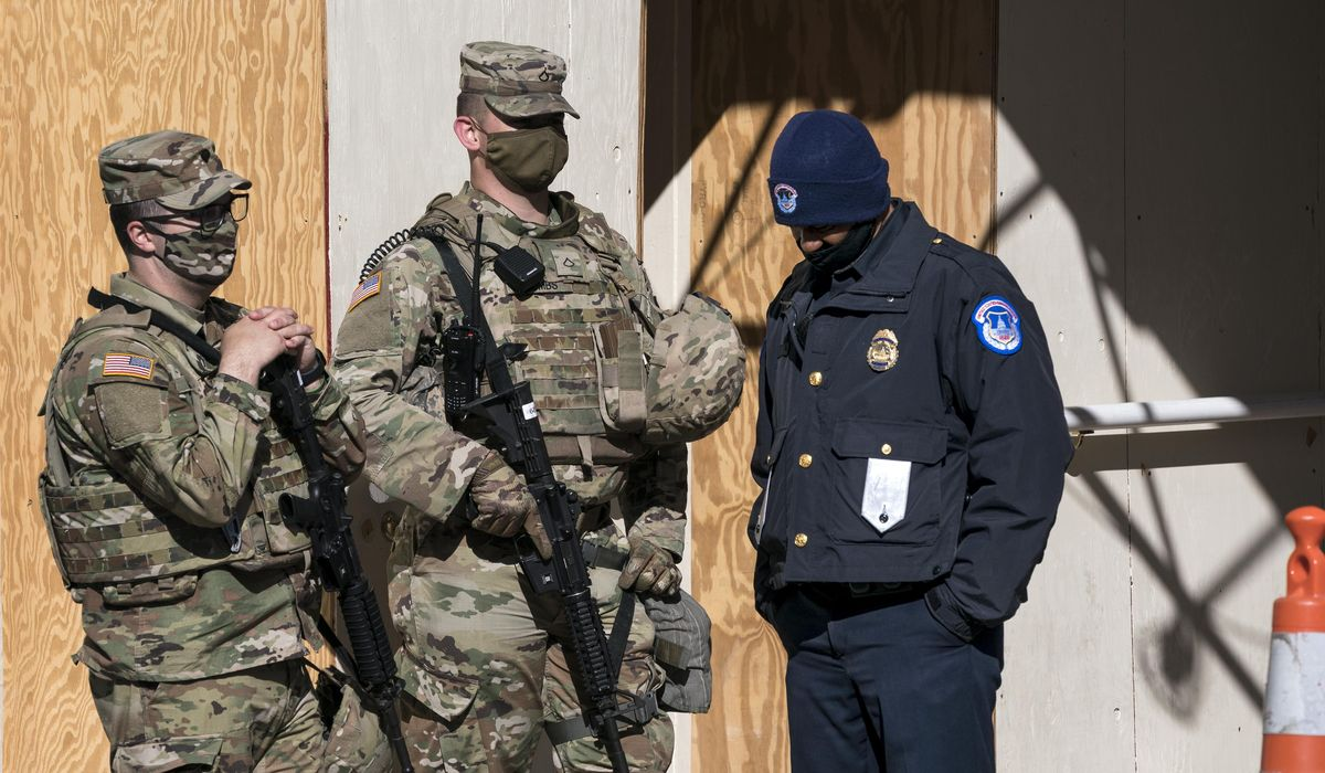 Congress approves emergency spending to repay National Guard, Capitol Police for Jan. 6 riot expense 1